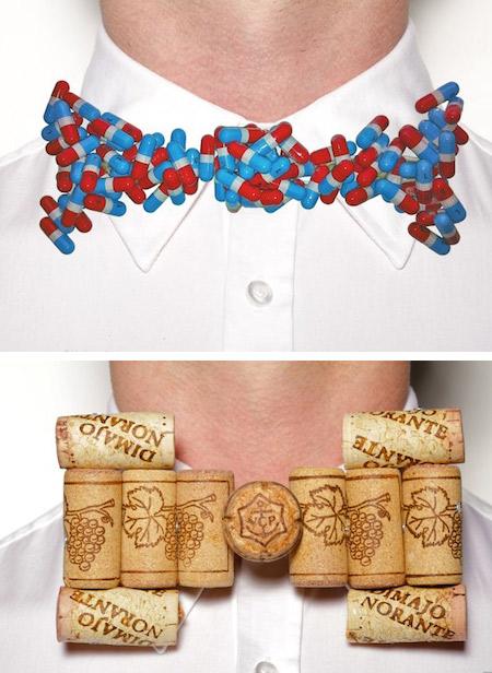 необычные галстуки-бабочки