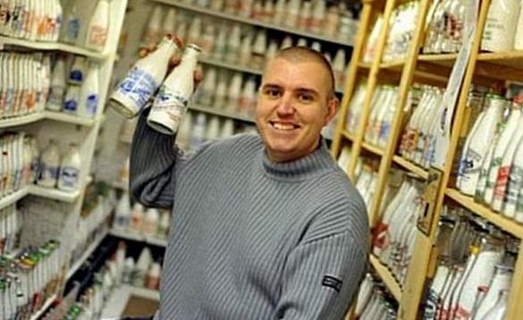 Коллекционирование молочных бутылок