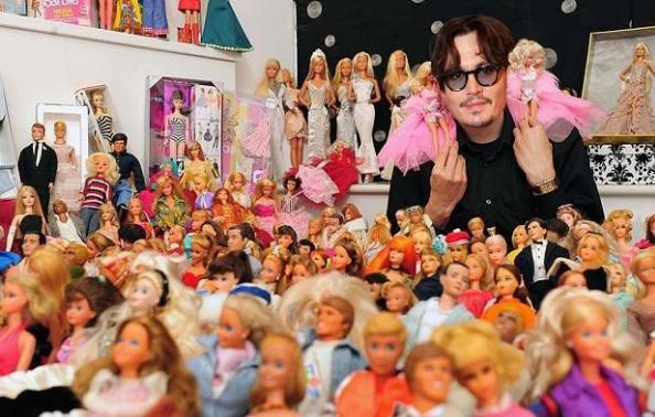 Коллекция Барби Джонни Деппа