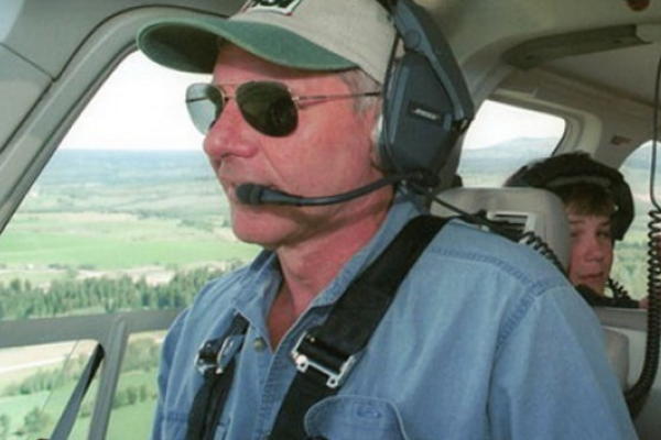 Пилот вертолета Харрисон Форд