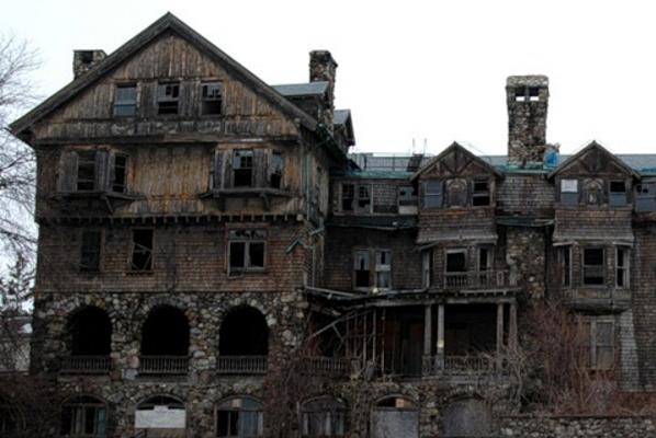 дома с призраками