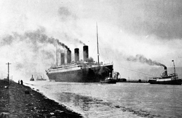 Томас Эндрюс младший и его Титаник
