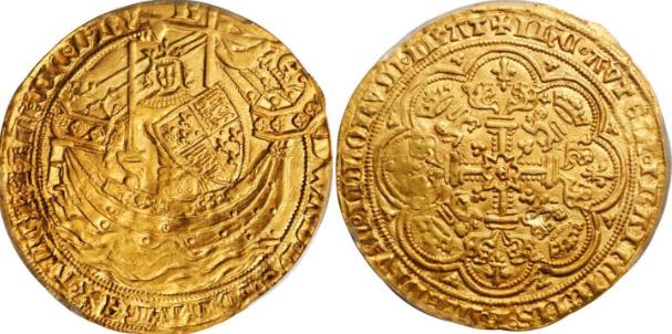 Эдуард III Флорин, 1343 года