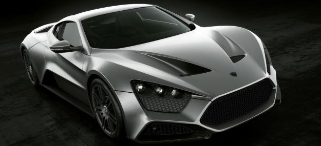 Самые дорогие машины в мире Zenvo ST1