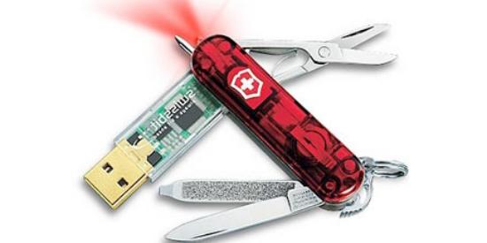 Флешка складной ножик