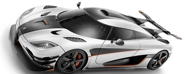 Koenigsegg One Самые дорогие машины в мире