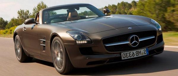 Mercedes Benz SLS самые крутые тачки
