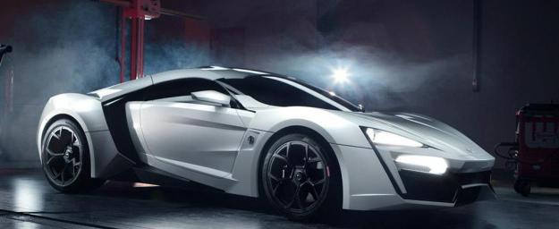 W Motors Lykan Hypersport Самые дорогие машины в мире