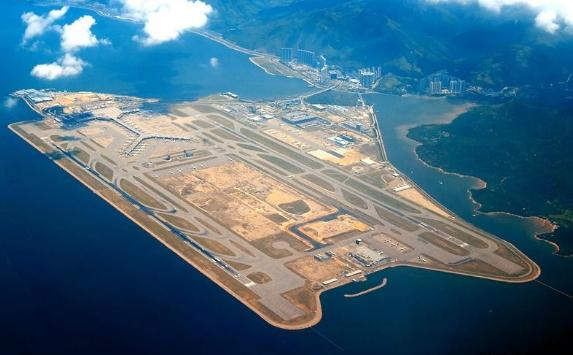 Самые большие здания аэропорт Гонконга