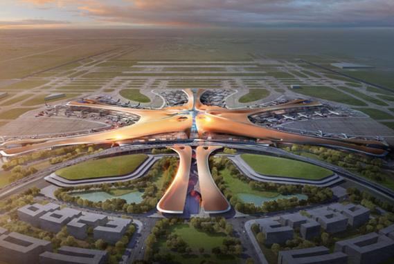 Самые большие здания аэропорт Пекина