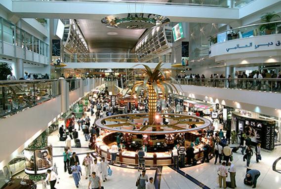 Самые большие здания аэропорт в Дубае