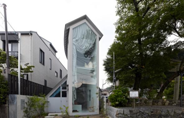 самый узкий дом в Киото