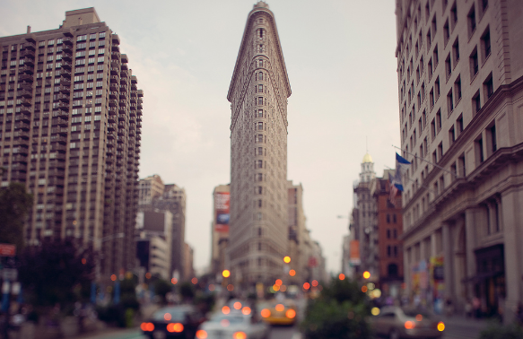 самый узкий дом в Нью-Йорке