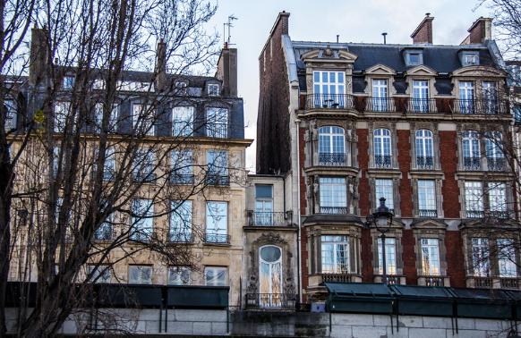 самый узкий дом в Париже