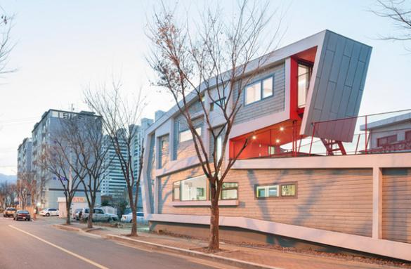 самый узкий дом в Южной Корее