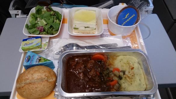 интересные факты о полётах еда