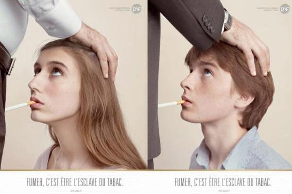 Шокирующая реклама о вреде курения