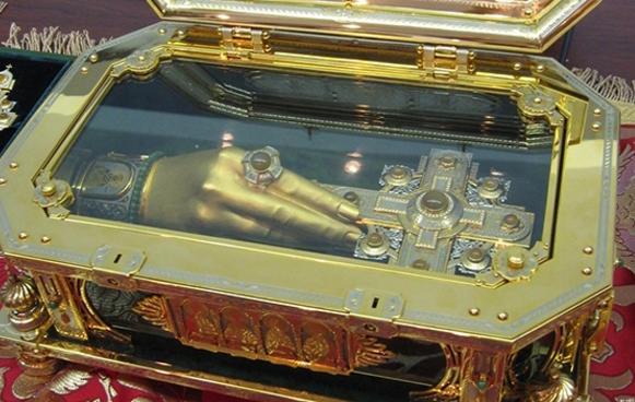 необычные реликвии Рука Марии Магдалины