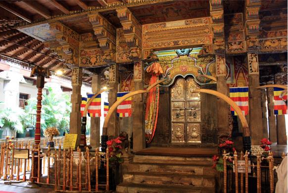 необычные реликвии Зуб Будды