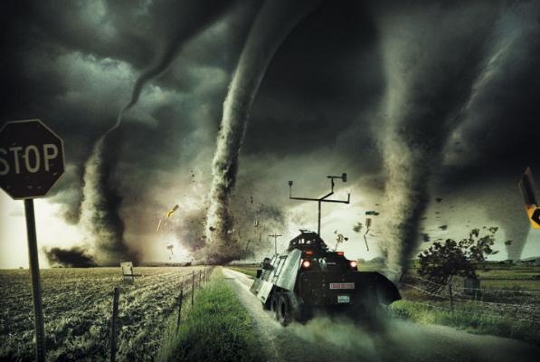 торнадо в Северной Америке