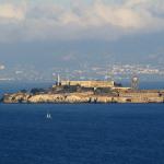 Остров Алькатрас в заливе Сан-Франциско
