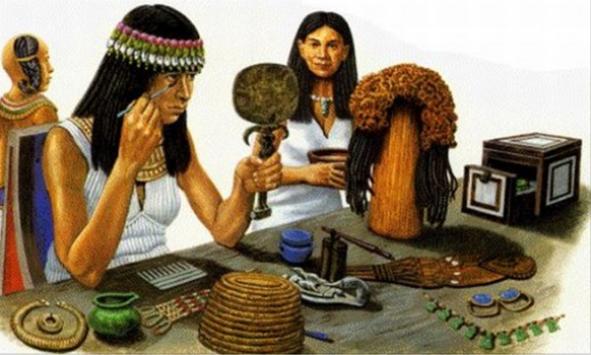 древний Египет косметика