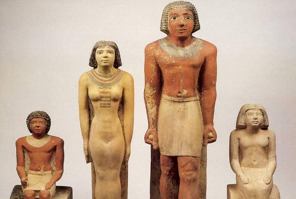 древний Египет мужчины и женщины
