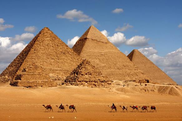 древний Египет пирамиды
