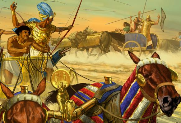 древний Египет воины