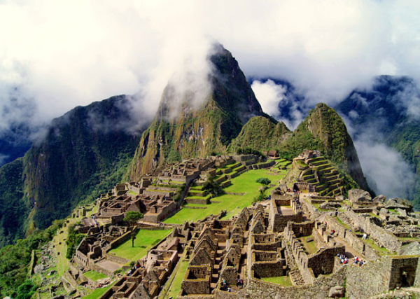 Мачу-Пикчу панорама
