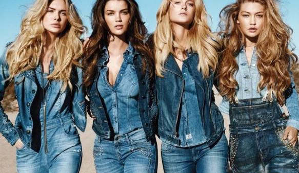 история моды джинсы