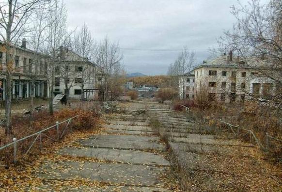 города призраки Кадыкчан