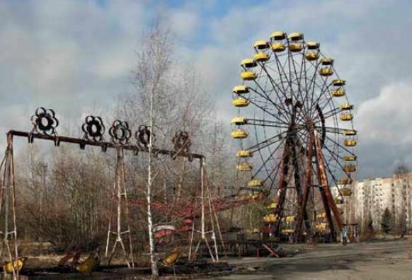 города призраки Припять