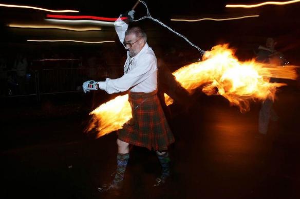 новогодние традиции в Шотландии