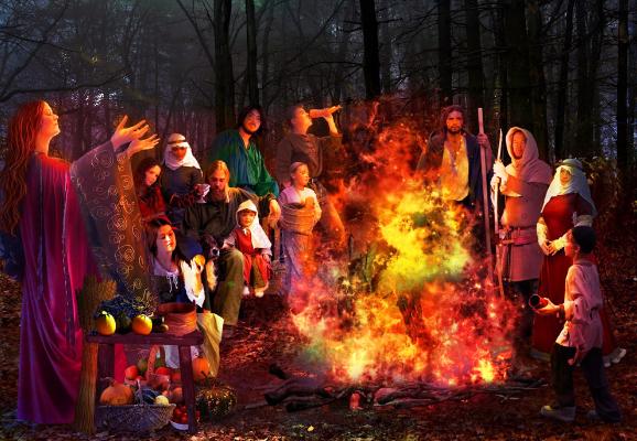 Языческие традиции хеллоуина