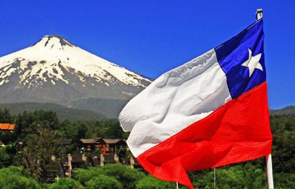 Чили флаг страны