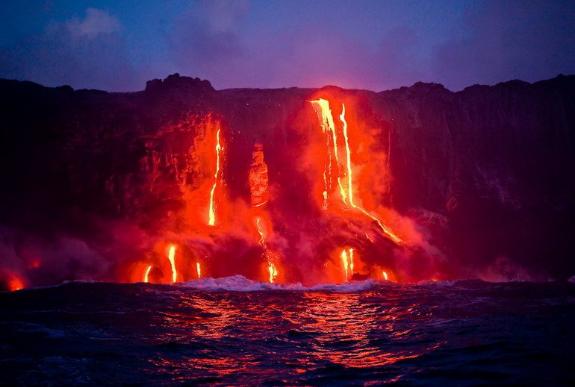 Гавайи вулкан