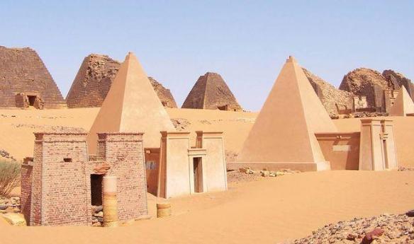 Интересные факты об Африке пирамиды