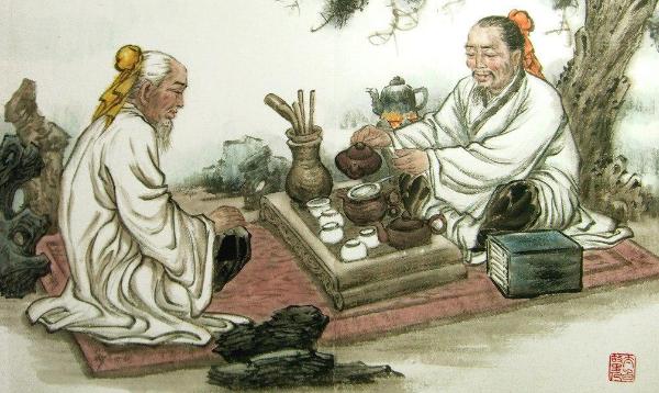легенда о чае