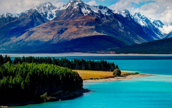 Новая Зеландия озера