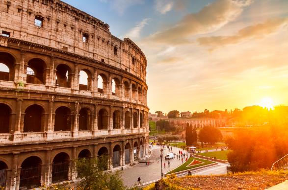 самые интересные места в Италии Колизей