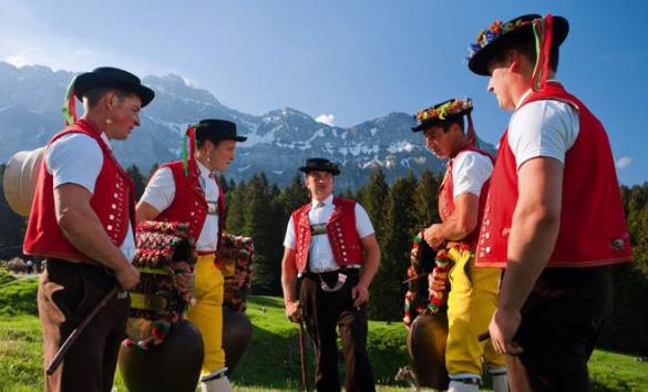 жители Швейцарии