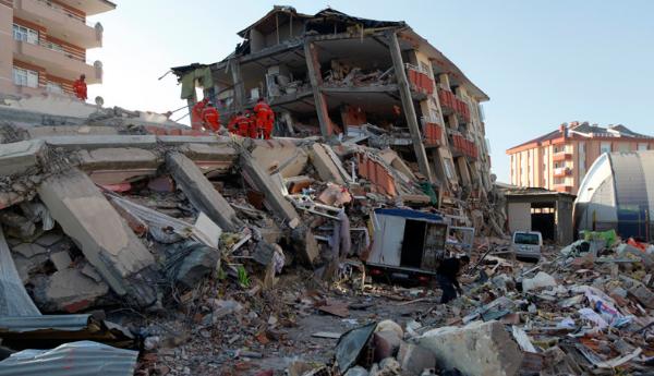 землетрясение в сирии