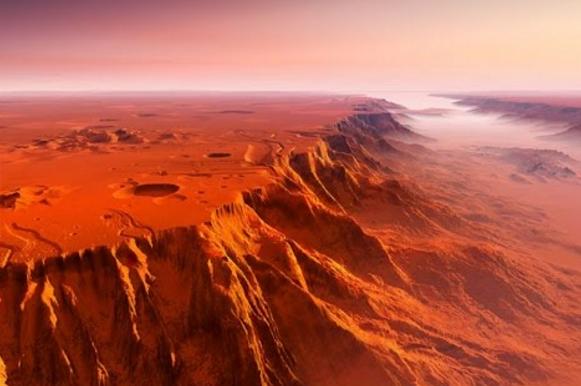 марс ландшафт